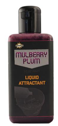 Dynamite Baits Mulberry Plum Liquid Attract 250ml