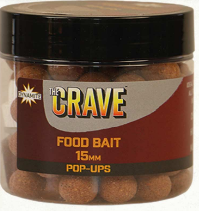 Dynamite Baits The Crave Pop-Up 15mm + Dopalacz
