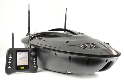 Łódka zanętowa MF-S5 (Kompas+GPS+Autopilot+Sonda) Monster Carp Bait Boat Czarna