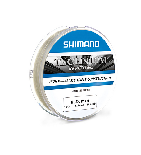 Shimano Żyłka Technium INVISITEC 0,205mm 150m 4,2kg