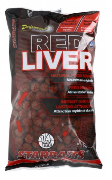 Starbaits Red Liver Concept Kulki 14mm 1kg