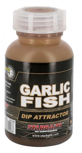 Starbaits Garlic Fish Dip Atraktor 200ml
