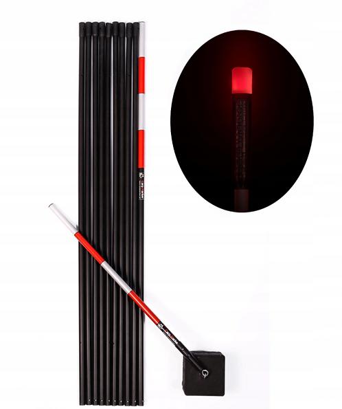 CARP MARKER Karpiowy 10m + Głowica LED Czerwona
