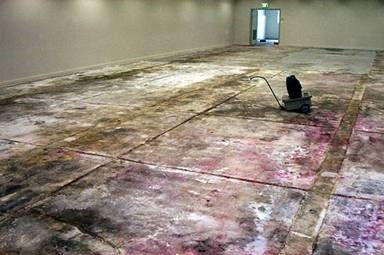 Purging of Floor with Densi-Proof