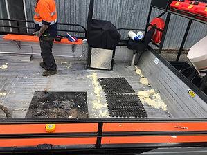 Spray Foam Injection for Boat Buoyancy