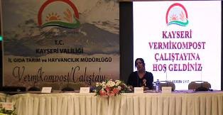 Kayseri 'Vermikompost Çalıştayı'
