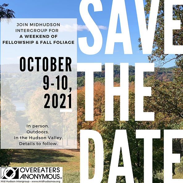 MHIG Fellowship Weekend Save the Date In