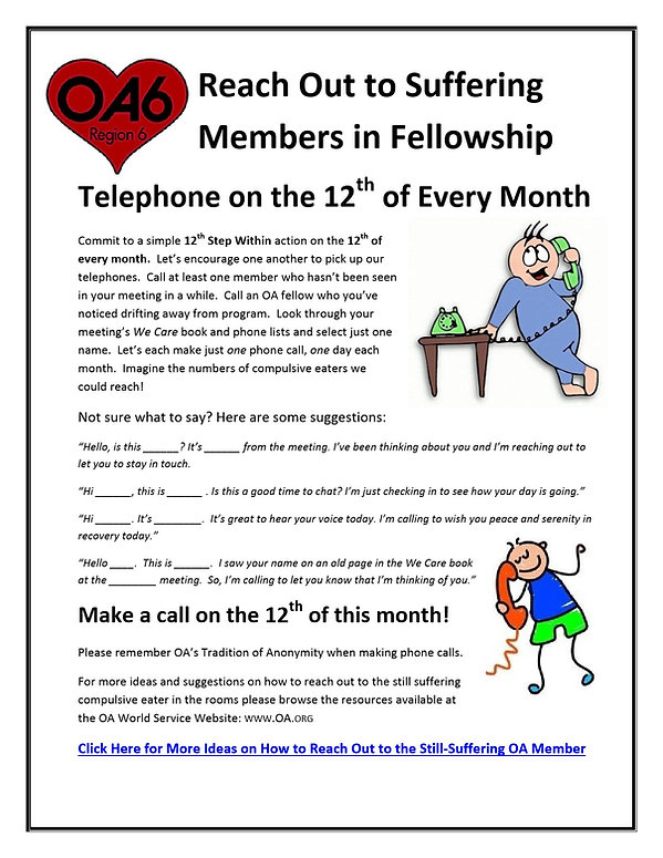 R6-12th_Step_Within_Telephone_Call_flyer