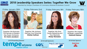 "Women in Business Leadership Speaker Series 2018: ""Together We Give"""