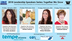 "Women in Business Leadership Speaker Series 2018: ""Together We Inspire"""