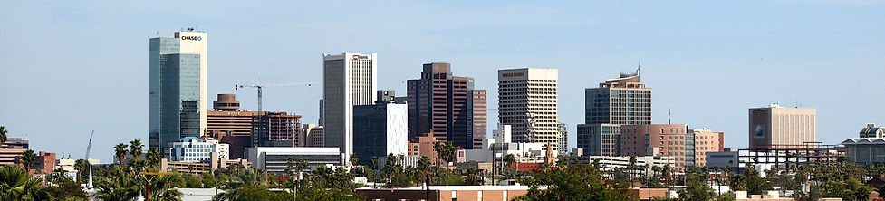 City of Phoenix Skyline