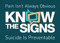 Know the Signs: Suicide is Preventable