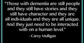 The Phenomena of Dementia