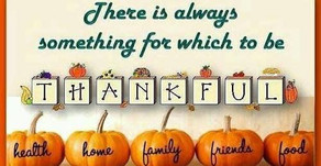 Thankful for Parents...Everyday