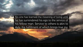 Service: A Personal Perspective