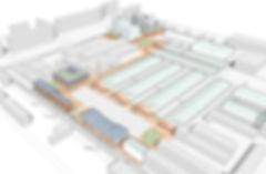 Masterplan Dong Xuan Handelszentrum - plus4930 Architektur