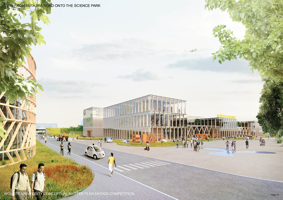 Wolkite University Design Study Urban Planning plus4930 Architektur