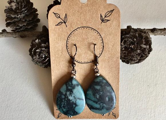 Handmade Earrings - Dark Forest