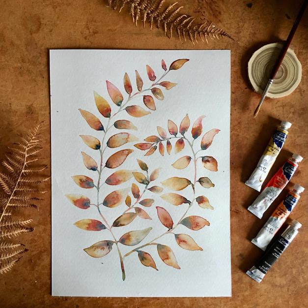 Helecho de otoño