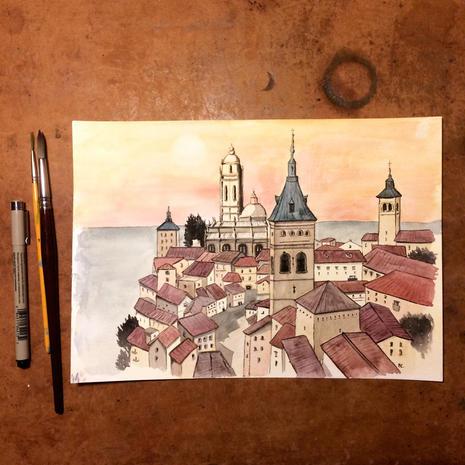 Segovia's Old town