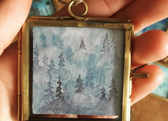 Ventana mágica - Bosque Malva