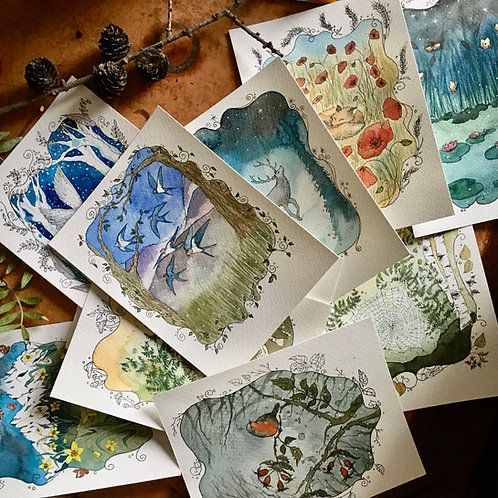 A4 prints of my illustrations