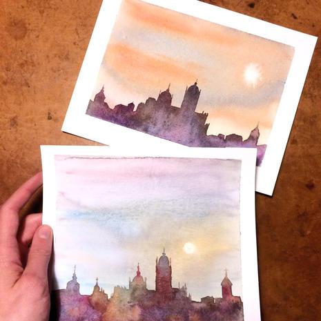 Segovia's Silhouette