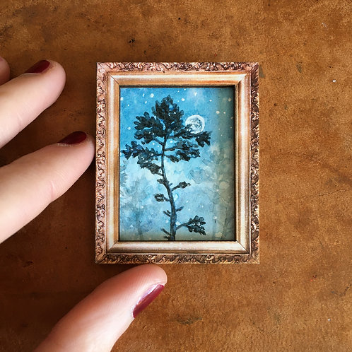 Lonely Pine Tree - Magnet