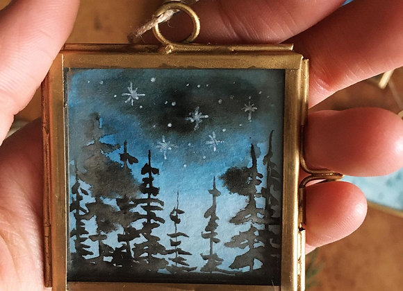 Magical Window - Twinkling Forest