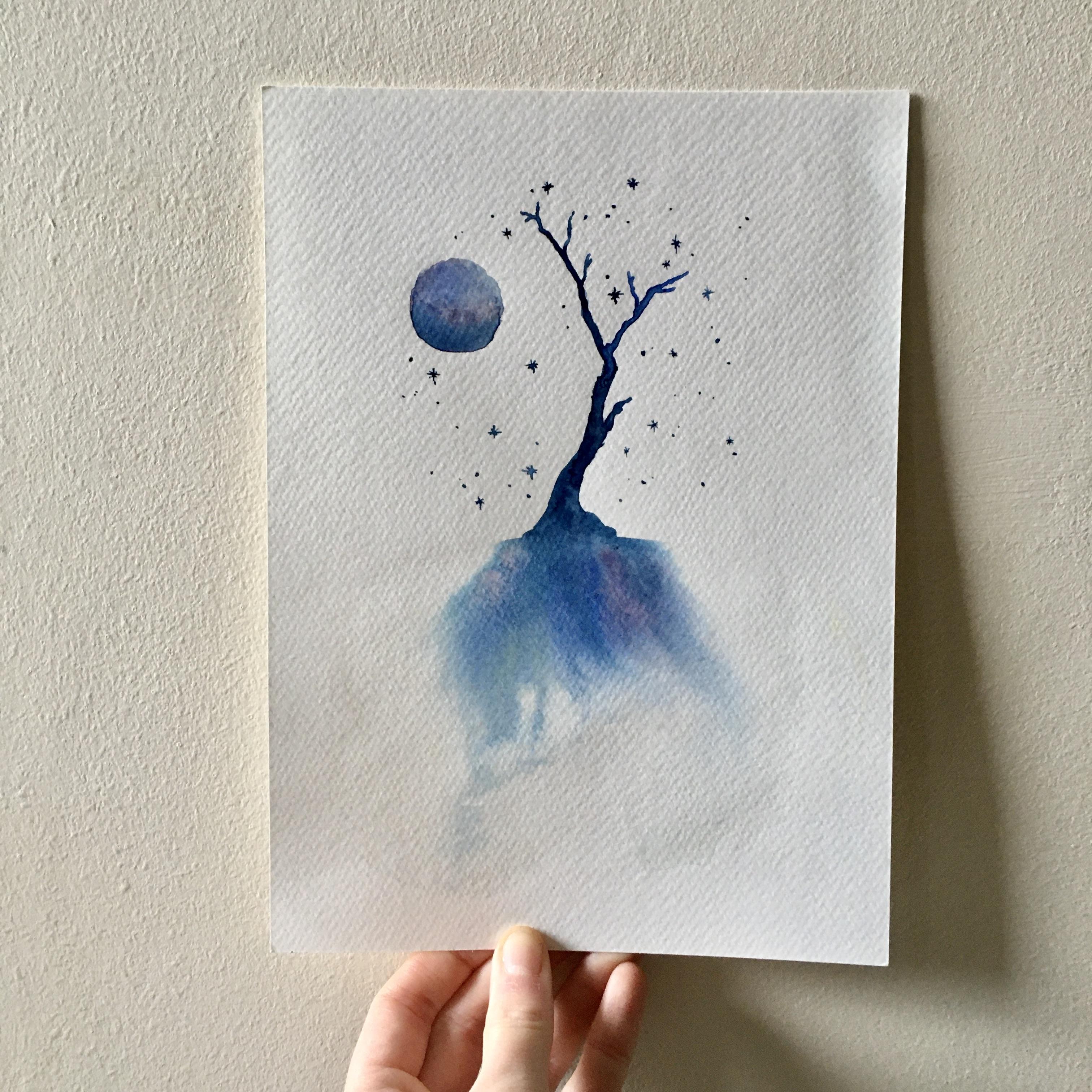 Magical summer tree