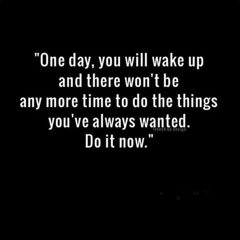Make it HAPPEN....Today!!!