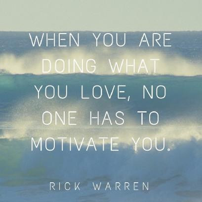 Are you doing what you Love? why not?