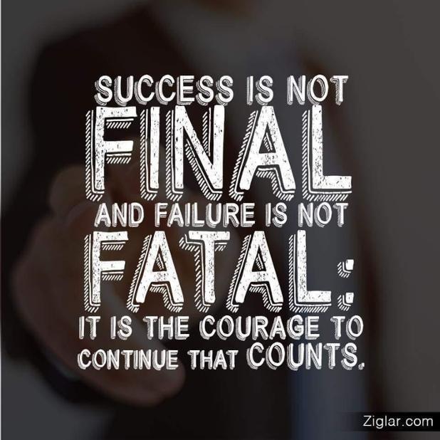 Keep Pushing! Keep Striving!!