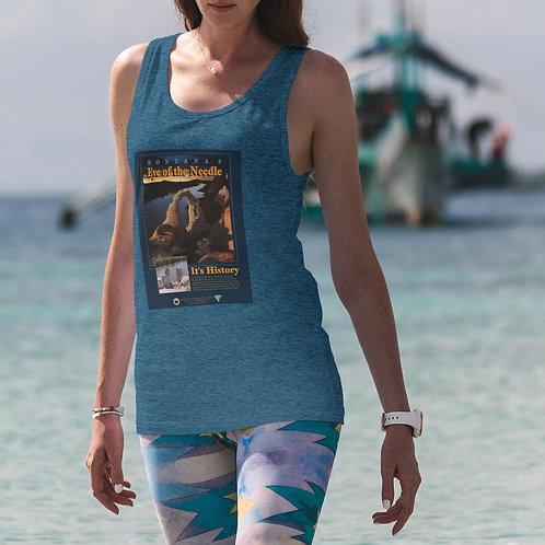 """cute girl wearing """"Montana"""" t-shirt by David Richard."""