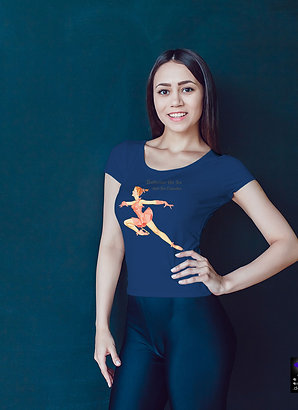 Ballerina On Ice T-Shirt