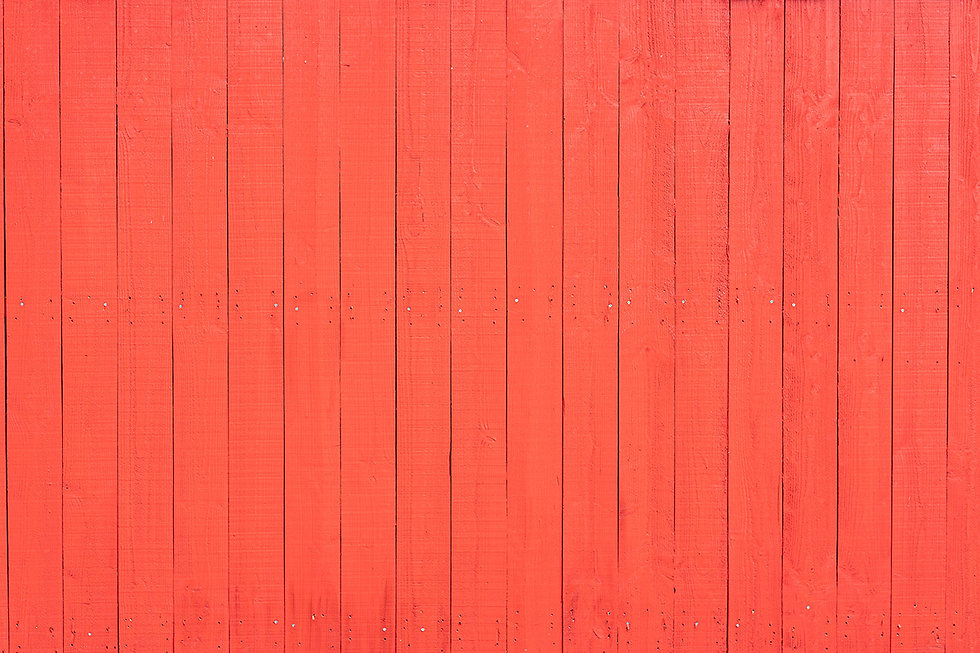 coral color wood wall