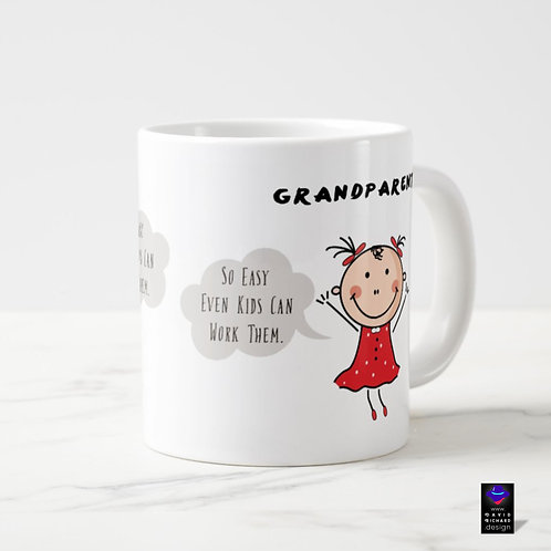 grandparents funny Coffee Mug