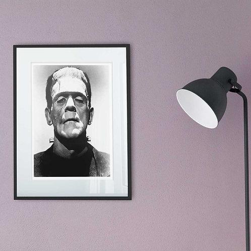 framed vintage boris karloff photo by David Richard designs.