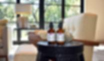 Napa Valley vineyard - organic skincare - organic california olive oil - gift set
