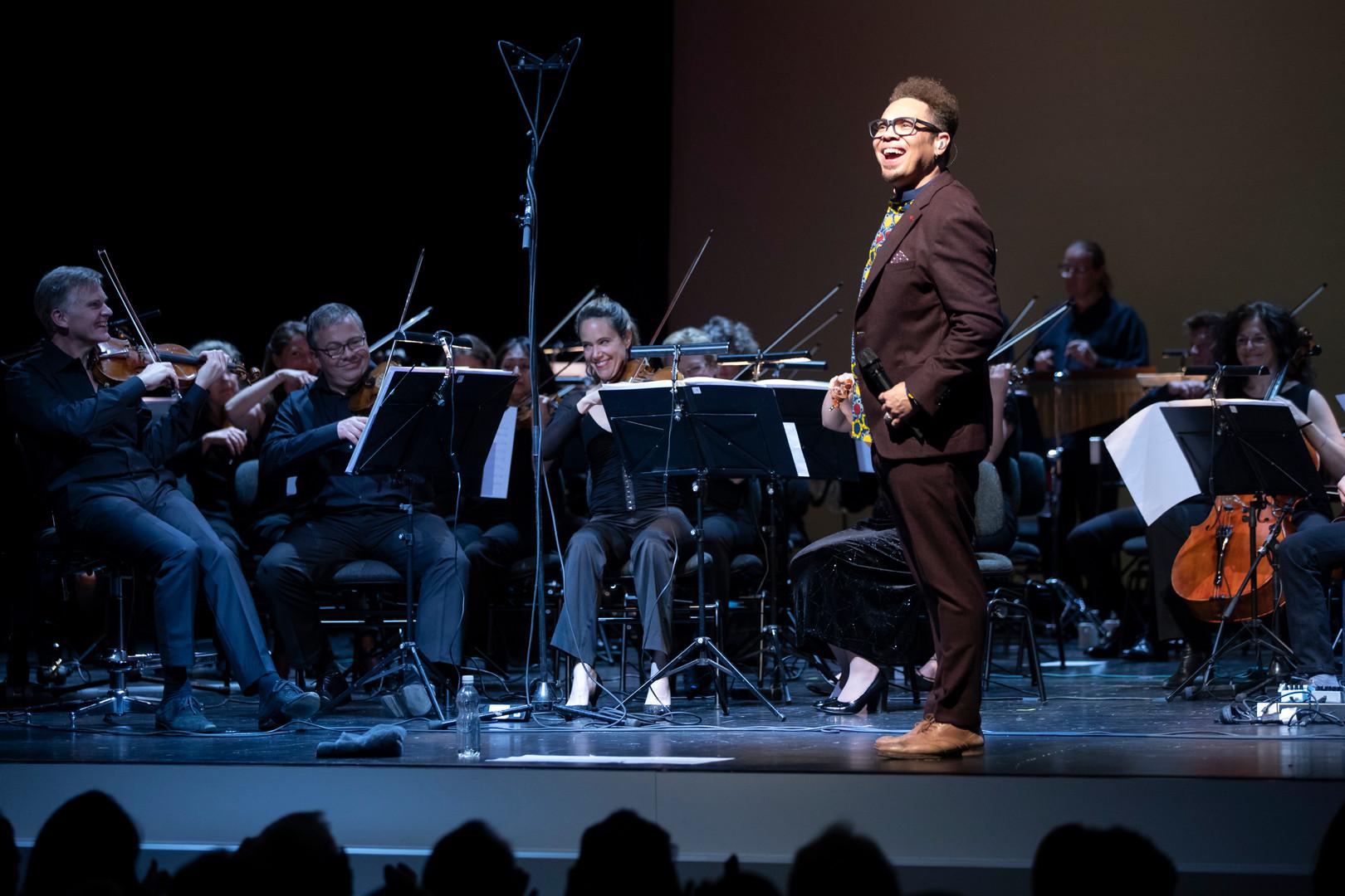 Das ZKO mit Musiker Marc Sway