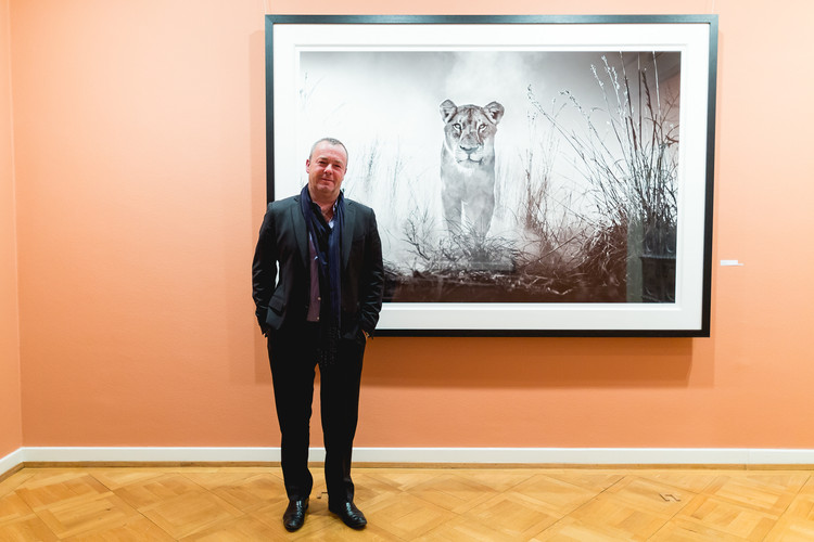 David Yarrow in der Villa Bührle
