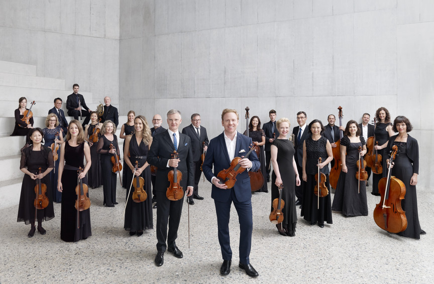 Zürcher Kammerorchester mit Music Director Daniel Hope