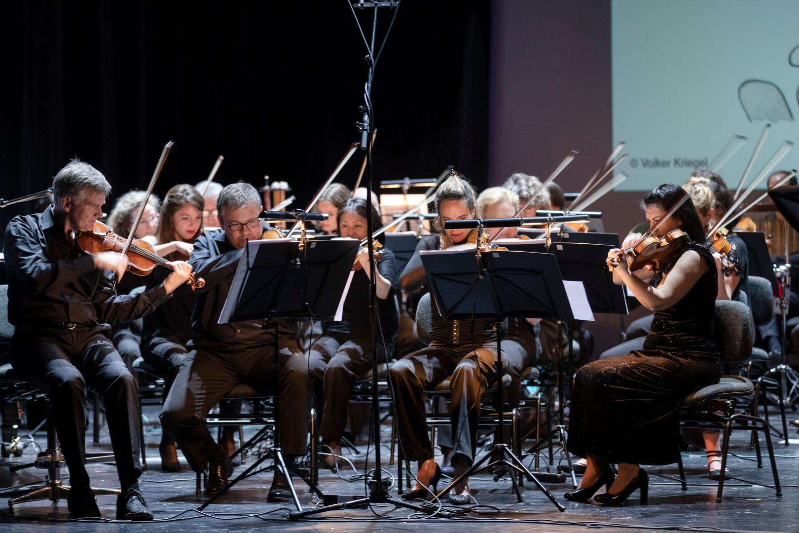 Das ZKO am Benefizkonzert für die Lewa Savanne im Schauspielhaus Zürich