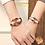 Thumbnail: Couple Watch Luxury Gold Waterproof Original Stainless Steel Quartz Wristwatch