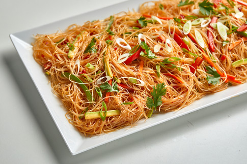 Glasss noodles with vegetables