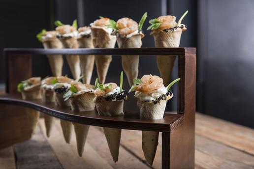 Shrimp cones