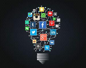 stockvault-social-networks-idea-with-lig