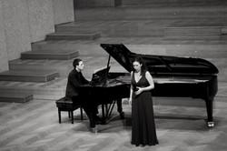 Recital with AndreuGallén 2