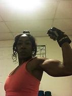 Athlectic Woman Posing