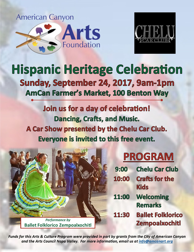 Hispanic Heritage Celebration!